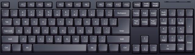 teclado de windows