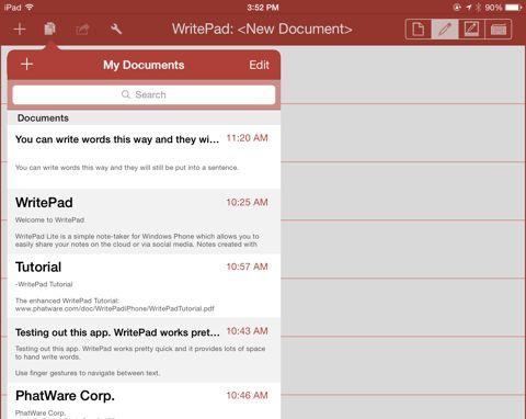 documentos WritePad
