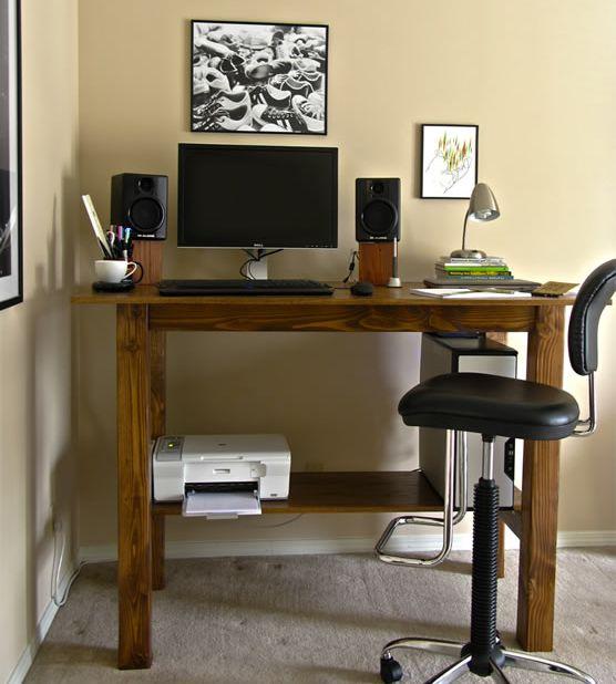 diseño escritorio de pie
