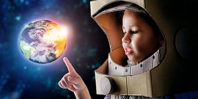 Su hijo puede convertirse en un astronauta - una breve guía para iniciar el sueño
